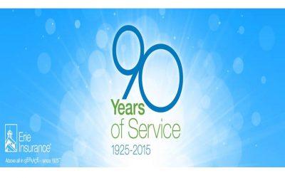 Happy 90th Birthday, Erie Insurance!