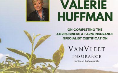 Congratulations, Valerie Huffman, AFIS