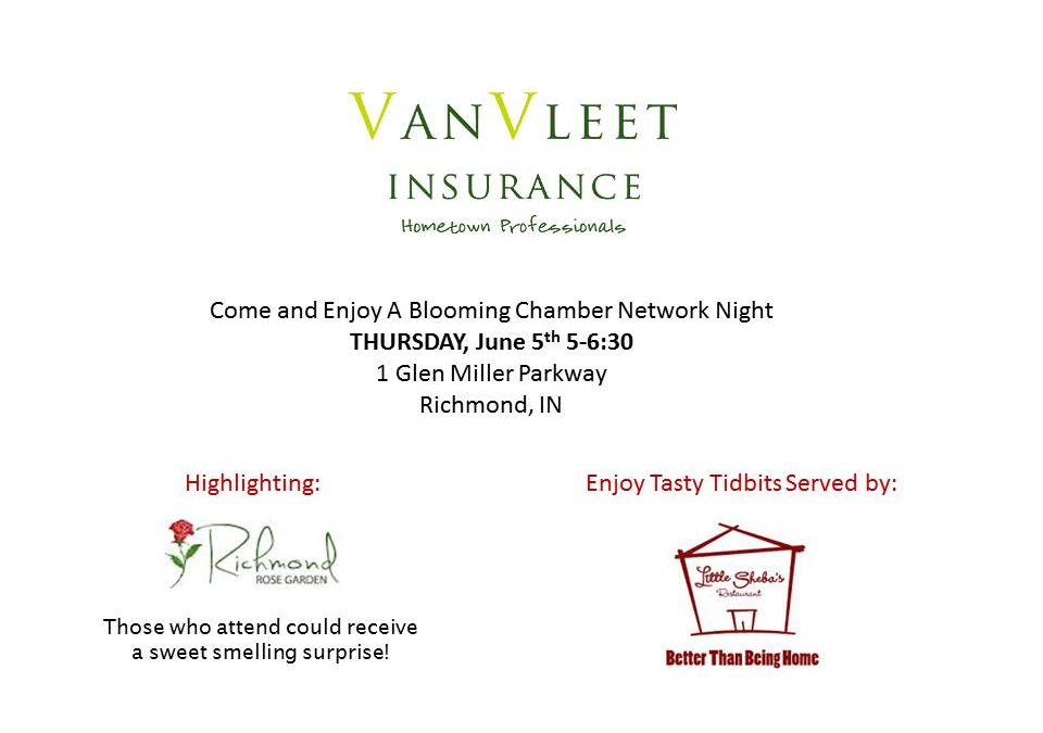 Chamber Network Night Thursday, June 5th
