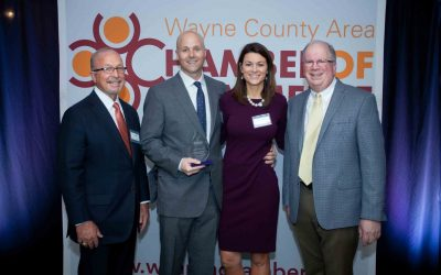 Achievement of Excellence- Small Business Award Winner 2019- Wayne County Area Chamber of Commerce