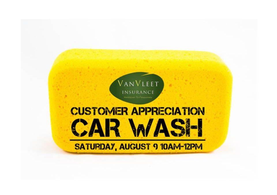 Customer Appreciation Car Wash – August 9th 10am