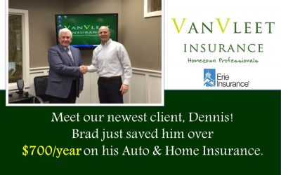 Meet Brad's Newest Client, Dennis!