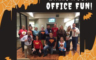Happy Halloween from the VanVleet Superheroes!