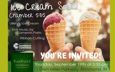 Ice Cream Social- Customer Appreciation & Chamber 5:35 Event