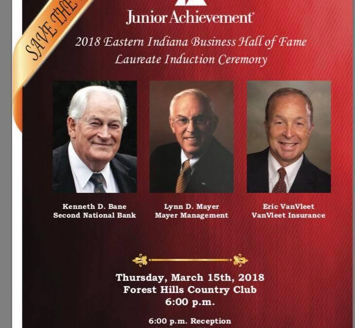 Save the Date!  Junior Achievement of Eastern Indiana Hall of Fame Induction Ceremony