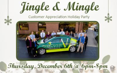 Jingle & Mingle Customer Appreciation Holiday Party