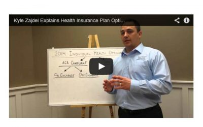 Kyle Zajdel Explains Health Insurance Plan Options for 2014