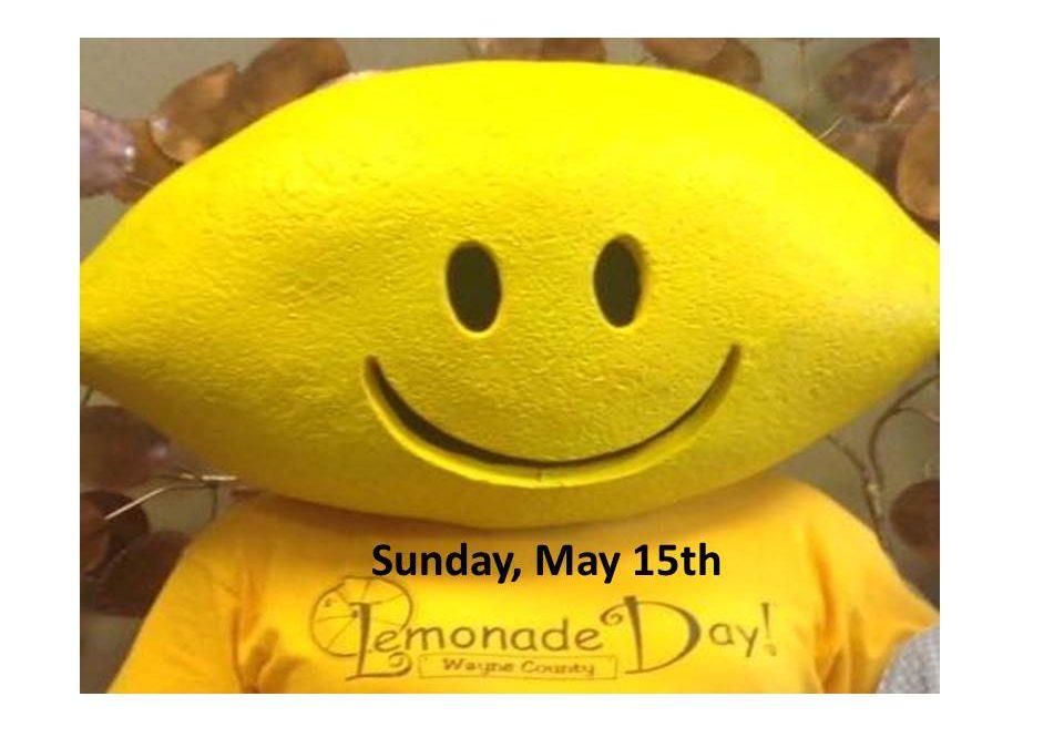 Lemonade Day – Sunday, May 15, 2016