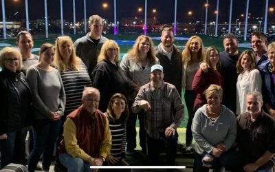 Top Golf Employee Party