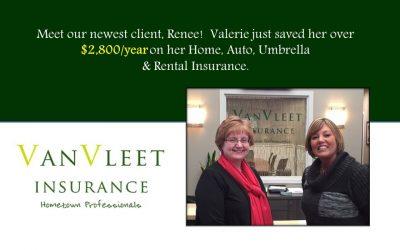 Meet Valerie's newest client, Renee!