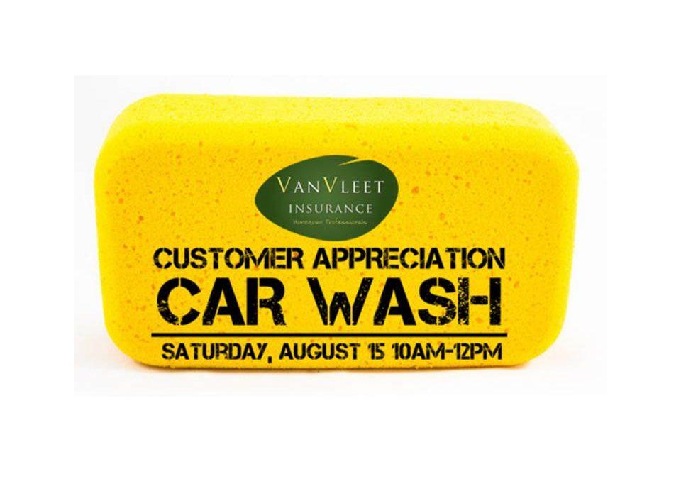 Customer Appreciation Car Wash