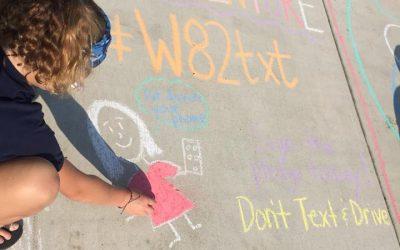 First #W82TXT Pledge Event- Chalk Fest